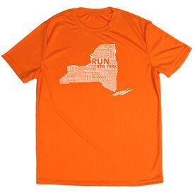 Men's Running Short Sleeve Tech Tee New York State Runner
