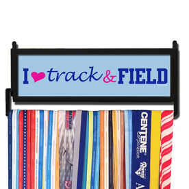 RunnersWALL Heart Track and Field Medal Display