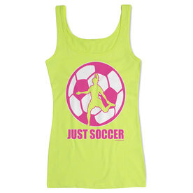 Soccer Women's Athletic Tank Top Just Soccer (Female)