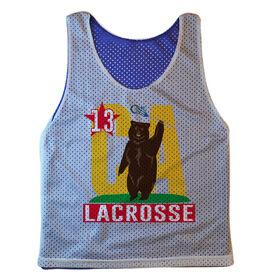 Guys Lacrosse Pinnie - Personalized California Lacrosse Republic