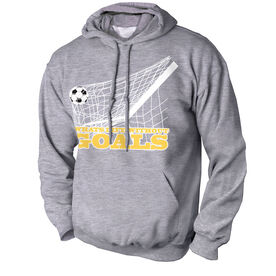 Soccer Standard Sweatshirt Soccer What's Life Without Goals