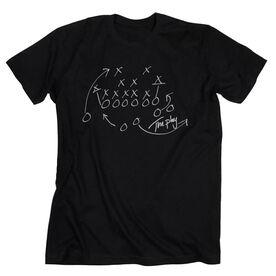 Football Tshirt Short Sleeve The Play