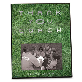 Rugby Photo Frame Thank You Coach
