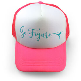 Figure Skating Trucker Hat - Go Figure