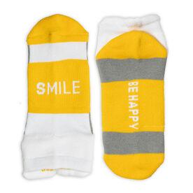 Socrates™ Woven Performance Socks Smile (Yellow)