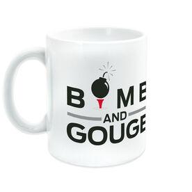 Golf Ceramic Mug Bomb And Gouge