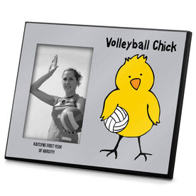 Volleyball Photo Frame Volleyball Chick