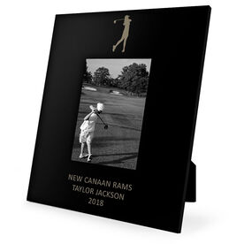 Golf Engraved Picture Frame - Girl Golfer