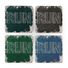 Running Stone Coaster Set of 4 - RUN