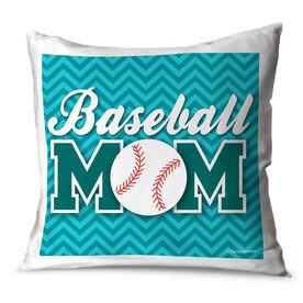 Baseball Throw Pillow Baseball Mom