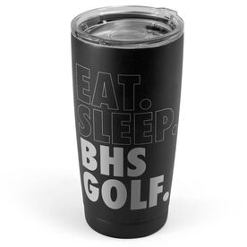 Golf 20 oz. Double Insulated Tumbler - Personalized Eat Sleep Golf