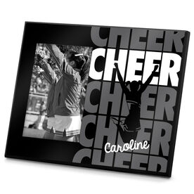 Cheerleading Photo Frame Cheer Name