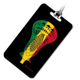Lacrosse Bag/Luggage Tag RastaLAX 'Stick'