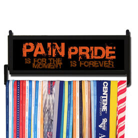 AthletesWALL Pain is for the Moment Medal Display