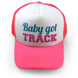 Track & Field Trucker Hat Baby Got Track