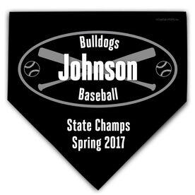 Baseball Personalized Custom Team Home Plate Plaque