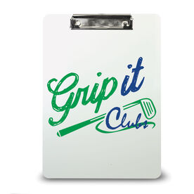 Golf Custom Clipboard Golf Your Logo