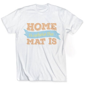 Vintage Wrestling T-Shirt - Home Is Where The Mat Is