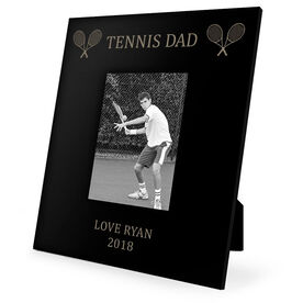 Tennis Engraved Picture Frame - Tennis Dad