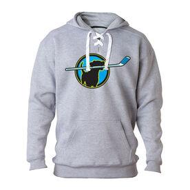 For Hockey Players Only Sweatshirt - Hockey Dog