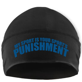 Run Technology Beanie Performance Hat - My Sport Is Your Sport's Punishment