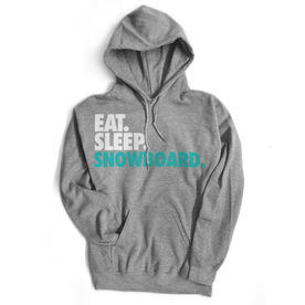 Skiing & Snowboarding Standard Sweatshirt Eat. Sleep. Snowboard.