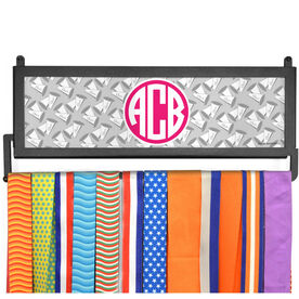 AthletesWALL Monogram with Megaphone Pattern Medal Display