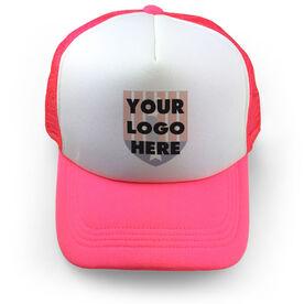 Golf Trucker Hat Custom Logo