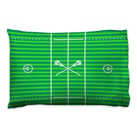 Guys Lacrosse Pillowcase - Field