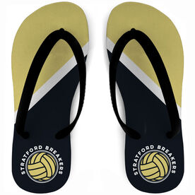 Volleyball Flip Flops Team Name