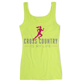 Cross Country Women's Athletic Tank Top Cross Country Is My Life