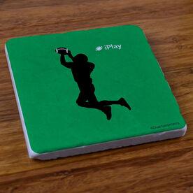 iPlay Football - Stone Coaster