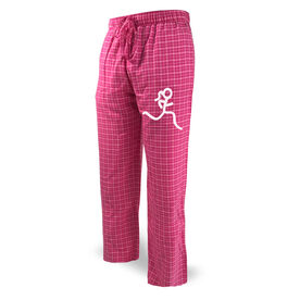 Running Lounge Pants Stick Figure Runner Girl