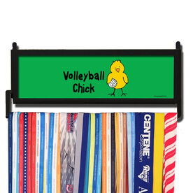 AthletesWALL Volleyball Chick Medal Display