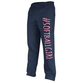Softball Fleece Sweatpants #SoftballGirl