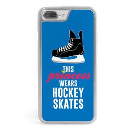 Hockey iPhone® Case - This Princess Wears Hockey Skates