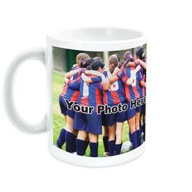 Soccer Ceramic Mug Thanks Coach Custom Photo