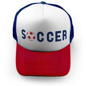 Soccer Trucker Hat Type