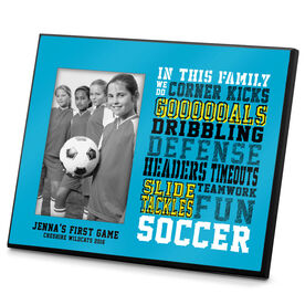 Soccer Photo Frame We Do Soccer