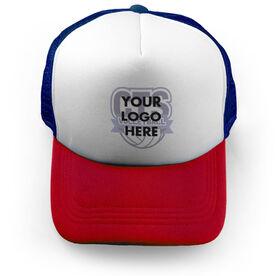 Volleyball Trucker Hat Custom Team Logo
