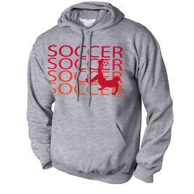 Soccer Standard Sweatshirt Soccer Fade