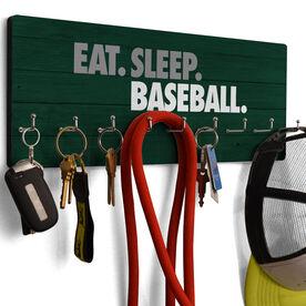 Baseball Hook Board Eat Sleep Baseball