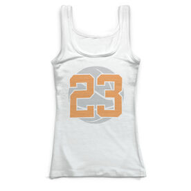 Basketball Vintage Fitted Tank Top - My Game