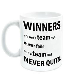 General Sports Ceramic Mug Winner Are Not