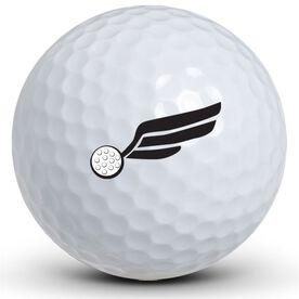 Winged Golf Balls