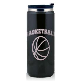 Stainless Steel Travel Mug Basketball Ball