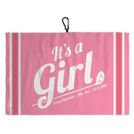 Golf Bag Towel Its A Girl