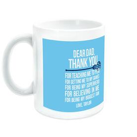 Lacrosse Ceramic Mug Dear Dad