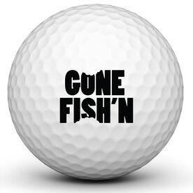 Gone Fishn Golf Ball