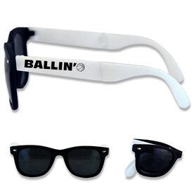 Foldable Basketball Sunglasses Ballin'